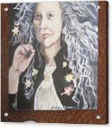 Portrait Of Kiki Smith Acrylic Print