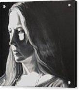 Portrait Of Leah S. Acrylic Print