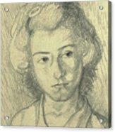 Portrait Of Lenore Acrylic Print