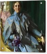 Portrait Of Lilly Eberhard Anheuser Anders Zorn Acrylic Print
