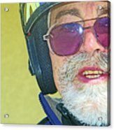 Portrait Of Lou Acrylic Print