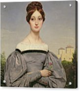 Portrait Of Louise Vernet Acrylic Print
