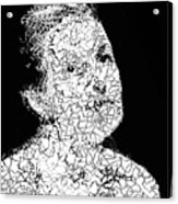 Portrait Of Margot  Acrylic Print