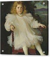 Portrait Of Marjorie Coldwell Westinghouse  Acrylic Print