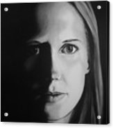 Portrait Of Michelle C. #3 Acrylic Print