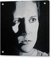 Portrait Of Michelle C. Acrylic Print