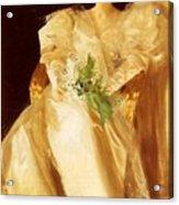 Portrait Of Mrs Eben Richards Anders Zorn Acrylic Print
