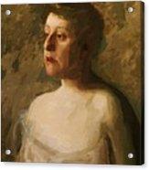 Portrait Of Mrs W H Bowden 1906 Acrylic Print