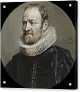 Portrait Of Nicholas Rockox Acrylic Print