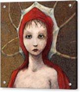 Portrait Of Octavia Acrylic Print by Ethan Harris