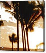 Portrait Of Paradise Acrylic Print