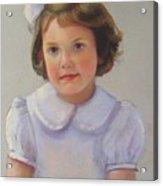 Portrait Of Polly Acrylic Print