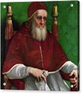 Portrait Of Pope Julius II - 1511 Acrylic Print