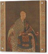 Portrait Of Portrait Of Shun'oku Myoha Shun Oku Myoha  Acrylic Print