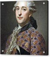 Portrait Of Prince Vladimir Golitsyn Borisovtj Acrylic Print