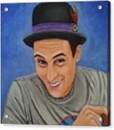 Portrait Of Shawn Davis Mooney  Acrylic Print