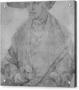 Portrait Of Susanne Von Brandenburg Ansbach Acrylic Print