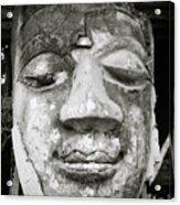 Portrait Of The Buddha Acrylic Print