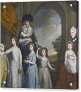 Portrait Of The Children Of William Acrylic Print