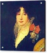Portrait Of The Princess A Scherbatova 1808 Acrylic Print