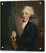 Portrait Of The Scottish Acrylic Print