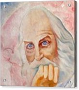 Portrait Of The Us-american Poet Walt Whitman Boris Grigoriev Acrylic Print