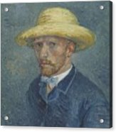 Portrait Of Theo Van Gogh Paris, Summer 1887 Vincent Van Gogh 1853  1890 Acrylic Print