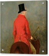 Portrait Of Thomas Cholmondeley Acrylic Print