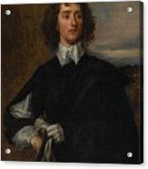 Portrait Of Thomas Hanmer Acrylic Print