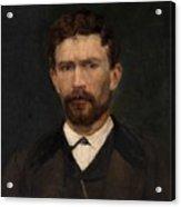Portrait Of Unknown Man Rosales Gallinas, Eduardo Acrylic Print