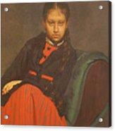 Portrait of Vera Shevtsova Acrylic Print
