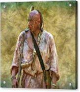 Portrait Of Warrior Bushy Run Acrylic Print