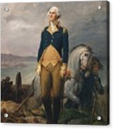 Portrait Of Washington Acrylic Print