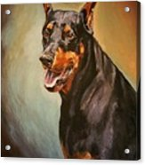 Portrait Of Zeus Acrylic Print