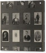 Portraits Of 15 African American Acrylic Print by Everett