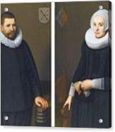 Portraits Of Ijsenbrand Allerts Acrylic Print