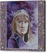 Portrati Of Mary Guccione, My Mom Acrylic Print