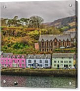 Portree Harbour Acrylic Print