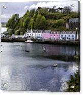 Portree Isle Of Skye Acrylic Print
