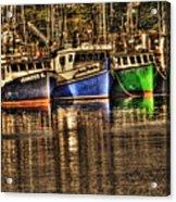Portsmouth Boats Acrylic Print