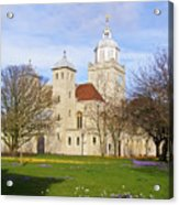Portsmouth Cathedral At Springtime Acrylic Print