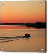 Portsmouth Harbor - Portsmouth New Hamphire Usa Acrylic Print