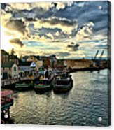 Portsmouth Harbor 2 Framed Print Can Be Seen On Set Of Abcs Desperate Housewives Acrylic Print by Edward Myers