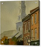 Portsmouth North Church Tower Acrylic Print