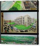 Portsmouth Ohio 1955 Acrylic Print