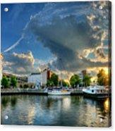 Portsmouth Sunset Acrylic Print