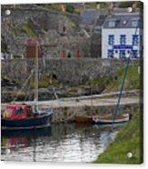 Portsoy Harbour Acrylic Print