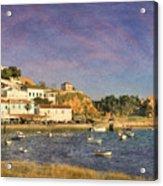 Portugal, Ferragudo Village  Acrylic Print