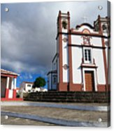 Portuguese Church Acrylic Print