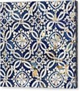Portuguese Glazed Tiles Acrylic Print